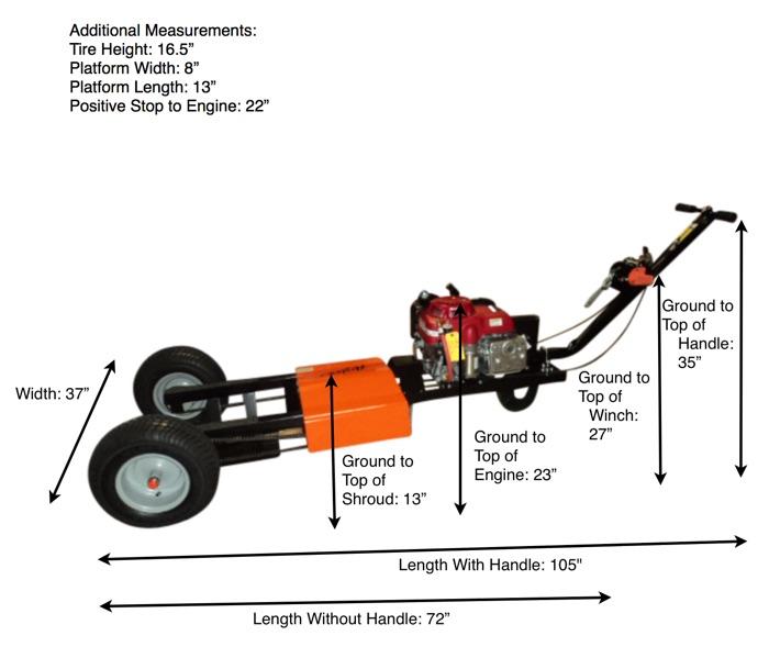 Airtug 10-S Dimensions