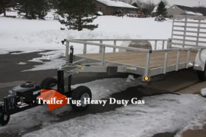 Heavy Duty Gas Trailer Tug