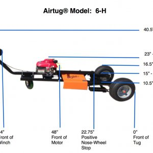 Airtug Model 6-h dimensions