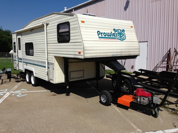 Small 5th Wheel Trailers used rvs motorhomes fifth wheels and more The Tt 5w Can Pull Or Push Up To 20000 Lbs Gtw With A Tongue Weight Of 3000 Lbs Or Less It Can Move 5th Wheel Trailers Gooseneck Trailers