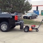 Car Pusher 6000 lbs Capacity - Gas