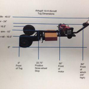 Airtug Model 10H Dimensions