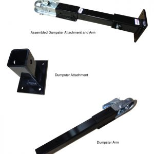 Airtug Dumpters Mover Attachments